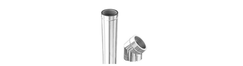 Tubos de extracción de humos - chimeneas - humeros - Estufas de pellet
